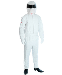 White Racer costume