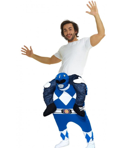 Piggyback Blue Power Ranger Costume