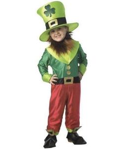 Child's Irish Leprechaun Costume