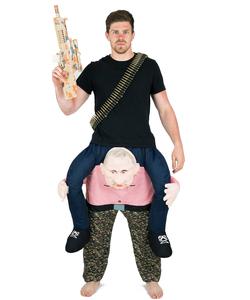 Piggyback Putin Costume