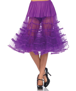Knee Length Petticoat - Grape