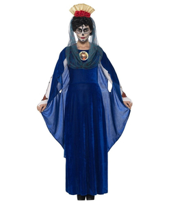Day Of The Dead Sacred Mary Costume - Plus Size