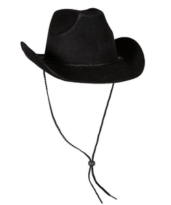 Super Deluxe Cowboy Hat - Black