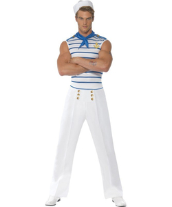 Fever French Sailor Costume - Men