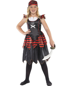 Gothic Pirate Costume - Kids