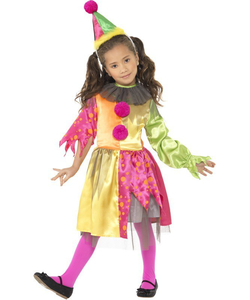Scary Girl Clown Costume