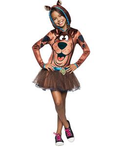 Girls Scooby-Doo Costume