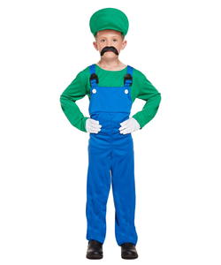Tween - Green Super Workman Costume