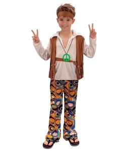 Hippy Boy Kids Costume