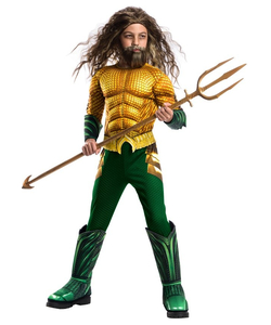 Deluxe Aquaman Costume - Kids
