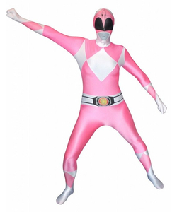 Pink Power Rangers Morphsuit