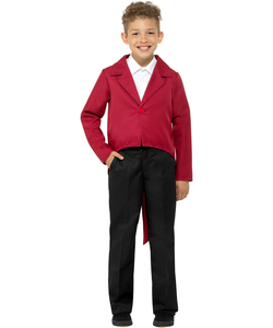 Tween Tailcoat - Red
