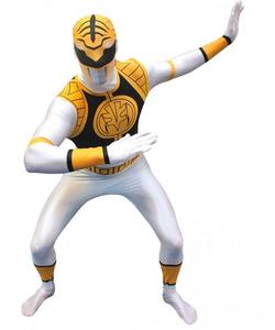 White Power Rangers Morphsuit