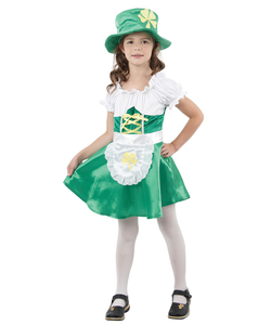 Girls Leprechaun Girl Costume
