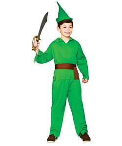 robin hood lost boy costume - kids