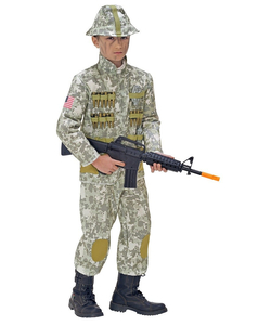 Tween Army Soldier Costume
