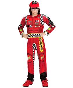 Formula 1 Driver Costume - Kids