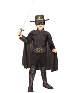 Deluxe Zorro Costume - Tween