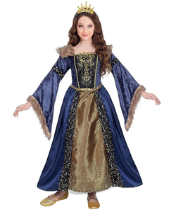 Medieval Queen Costume - Tween