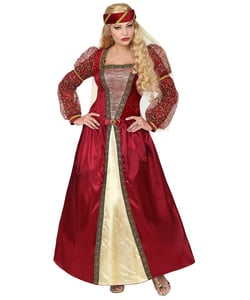 Medieval Princess Costume - Plus Size