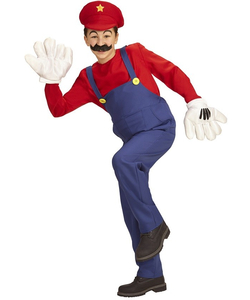 Super Plumber Costume - Tween