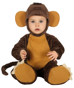 Little Monkey Baby Costume