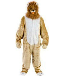 Fur Fabric Lion Costume