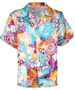 Satin Hawaiian Shirt