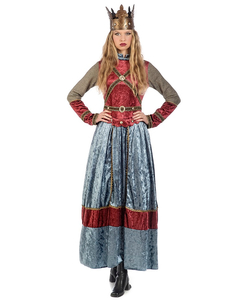 Medieval Queen Isabel Costume
