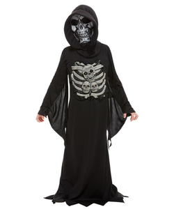 tween skeleton reaper costume