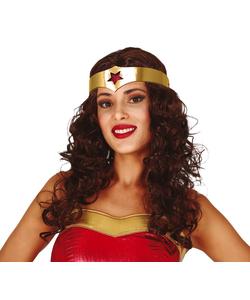 Female superhero wig