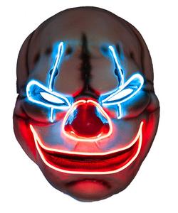 EL Big Mouth Creepy Clown Mask