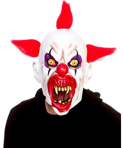 Cannibal Clown Latex Mask