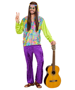 Colourful Hippie Costume