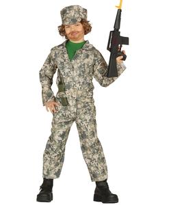 Childrens Soldier Costume