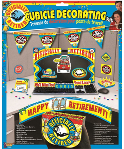 Happy Retirement Cubicle decorating Kit