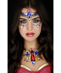 Wonder Woman Face Jewel