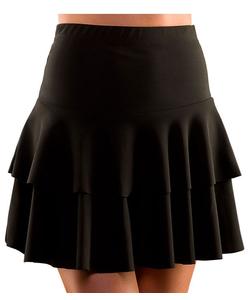 80's Ra Ra Skirt - Black