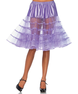 Knee Length Petticoat - Lavender