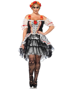 Lovely Calavera Costume - Plus Size