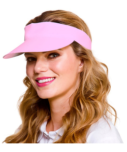 Golf Visor - Light Pink