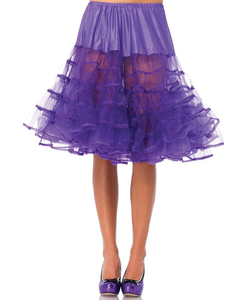 Knee Length Petticoat - Purple