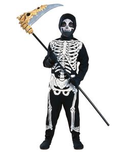 Haunted House Skeleton Costume - Kids