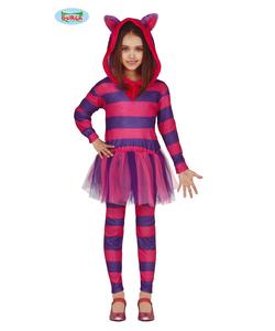 Kids Purple Cat Costume