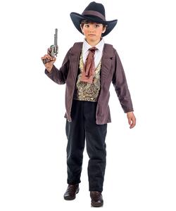 Vaquero Cowboy Costume - Kids