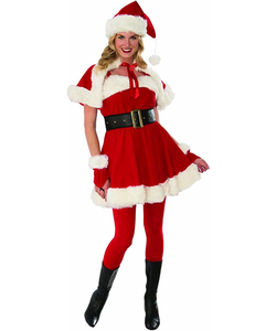 Deluxe Miss Santa Costume