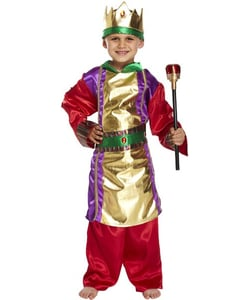 Tween Nativinty King Costume