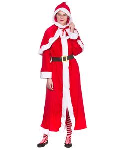Super Deluxe Mrs Santa Costume