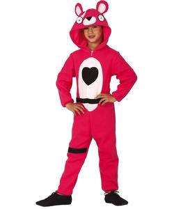 tween Pink Bear Costume