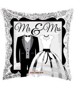 Mr & Mrs Foil Balloon